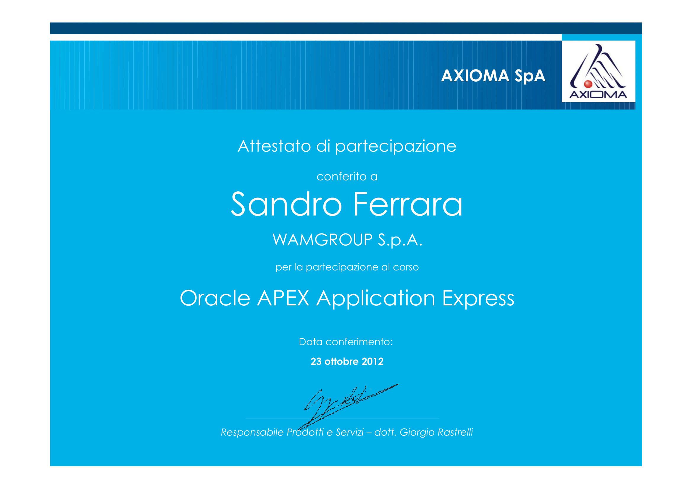 ORACLE APEX APPLICATION EXPRESS CERTIFIED